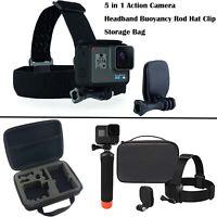 5 in 1 Action Camera Headband Buoyancy Rod Kit for Gopro Max Hero 8 7 6 5 Camera