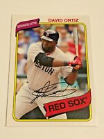 2012 Topps Archives Baseball Base Card #136 - David Ortiz - Boston Red Sox