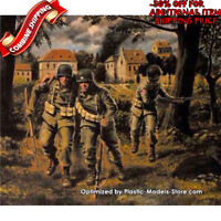 Master Box 3511 WWII US Paratroopers 101st Airborne 1944 (3Fig) plastic kit 1/35
