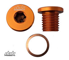 DAB PRODUCTS ENGINE/GEARBOX OIL FILLER PLUG SCREW ORANGE SCORPA SHERCO TRS OSSA