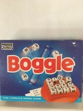 Boggle The 3 Minutes Word Game ( Parker 1996) Complete.