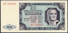 POLOGNE Année 1948 Billet de 20 Zlotych NEUF jamais circuler