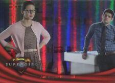 Supergirl Season 1 Rainbow Foil Base Card #31 Act Super Normal!