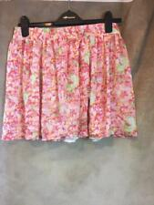 ZARA FLORAL MINI SKIRT SIZE MEDIUM B20 REF: 2670 154