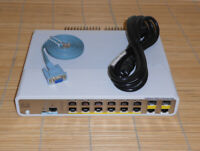 Cisco Catalyst WS-C3560C-12PC-S Switch 12 FE PoE+  2x Dual Purpose Uplink