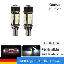 2x W16W T15 15SMD LED Canbus Rückfahrlicht Rückfahrleuchte Universal  für BMW VW