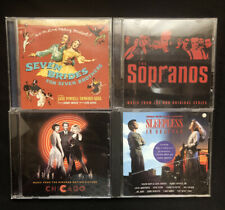 Lot of 4 Motion Picture / Series CD's Chicago, the Sopranos & More