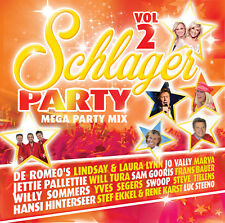 CD * SCHLAGERPARTY VOL 2 / MEGA PARTY MIX (NEW & SEALED !!!)