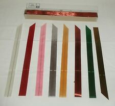 Vtg 3M Pull String Gift Wrap Bows YOUR CHOICE COLORS White Red Pink + 10 PC NOS