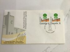 Canada Fdc 1974 Agriculture Education 8c Free Us Ship