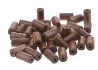 Felex Holzkugeln zum basteln I Perlenstrang I Beads I 40 Holzperlen I 11x6x6mm