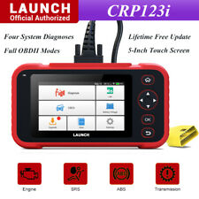 LAUNCH OBD2 Car Engine Transmission ABS SRS Diagnostic Tool Touch Screen Scanner