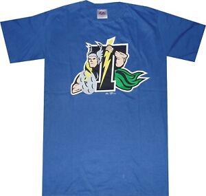 Trenton Thunder Minor League Mens Blue Majestic T Shirt New No tags