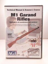 M1 Garand Gunsmithing Maintenance Dvd Agi Video Gunsmith M-1