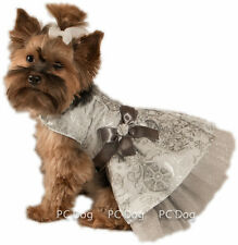 S Silvery Christmas Dog dress clothes pet clothing Christmas Small PC Dog®