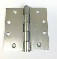 """3 Pack Hager 1279-Us26D Architectural Heavy 4.5"""" Satin Chrome Door Hinges - Usa"""
