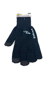 DeFeet DURAGLOVE ET Large Black Running Cycling US Made (NC) Temp to 40 F (4 C)