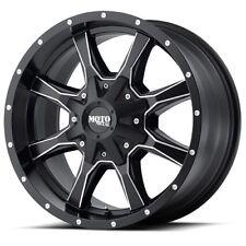 20x10 Moto Metal MO970 Black and Milled Wheels 6x135/6x5.5 (-24mm) Set of 4