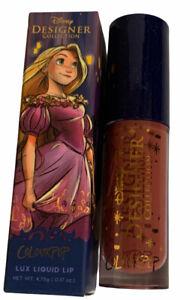 Colourpop Disney Designer Rapunzel Lux Liquid Lip Lipstick FLYNN 0.17 Oz.New