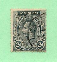 Saint Vincent - SG# 110 Used / wmk multi crown CA  -  Lot 0221903