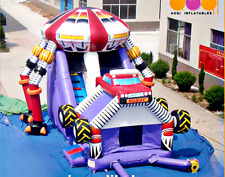 40x25x30 Commercial Inflatable Robot Bounce House Water Slide Castle Truck Combo