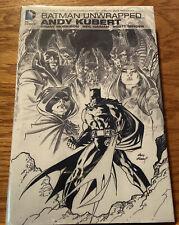 New ListingBatman Unwrapped Andy Kubert - Dc Comics Hardcover by Morrison, Gaiman & Snyder