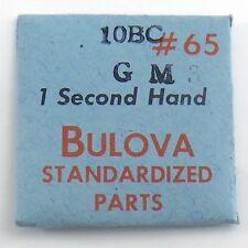Genuine Bulova Standardized Parts 10BC GM3 #65 1 One Second Hand Sealed I596