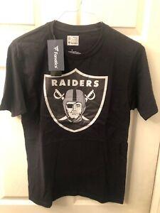 Las Vegas Raiders Oakland Shirt Men's Small Real Men Wear Black Nfl Fanatics