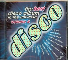 BEST DISCO ALBUM IN THE UNIVERSE  - VOL 6 - VARIOUS - CD - NEW - FREE SHIPPING !