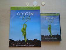 ORIGIN OF LIFE lot of 2 Teacher supplement & cd homeschooling Creation Science