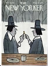 NEW YORKER MAGAZINE ORIGINAL COVER DATED 25TH NOVEMBER 1967