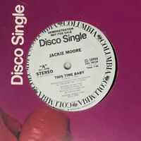 """Jackie Moore This Time Baby Vinyl Record - Rare Disco 12"""" Promo 23-10994"""