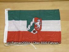 Fahnen Flagge Nordrhein Westfalen Bootsfahne Tischwimpel - 30 x 45 cm