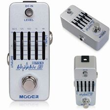 NEW Mooer GraphicB 5 Band EQ Bass Guitar Pedal True Bypass Equalizer Graphic B