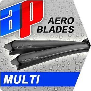 for TVR TAMORA CABRIOLET 2000-07 AeroFlat Multi Adapter Wipers MULTIin