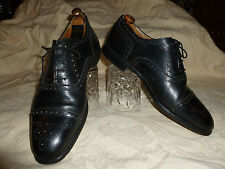 MENS  BROGUES VINTAGE ALLEN PIERCH OF ENGLAND  SHOES   - SIZE 7 1/2 FX MEDIUM