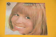 "7"" 45 (NO LP ) SOLO COPERTINA MARISA SANNIA UNA LACRIMA ORIG ITALY '60 EX"