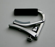 New Shubb S5 Deluxe Capo for Banjos, Mandolins and Bouzoukis, Flat Fretboard