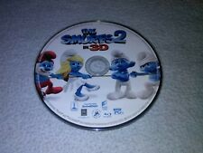 The Smurfs 2 Blu Ray 3D disc ONLY 2013