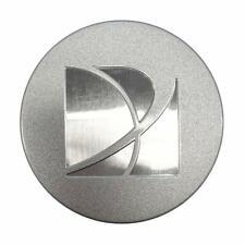 "(SILVER LOGO) Saturn Center Cap 2.5"" Hubcap # 9595010"