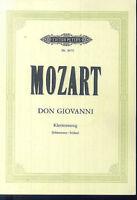 Mozart - Don Giovanni, Klavierauszug von Schünemann / Soldan