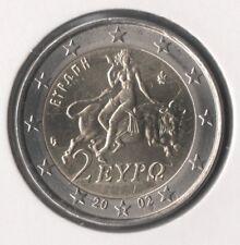 GRECE - Monnaie 2 euro 2002 S étoile ☆ QUALITÉ FDC / Finlande FAUTEE & UNIQUE !!