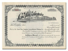 Lone Pine Surprise Consolidated Mining Co. Stock Certificate (Washington)