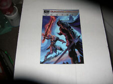 Forgotten Realms: Cutter # 5 Cover A (IDW, 09/13) SIGNED by R. A. Salvatore