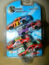Motorworks Nascar Dodge/Chevy 4 Pack Mini Cars Brand New Ships Free in US