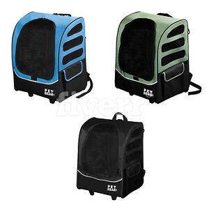 Pet Gear I-GO Plus Traveler Pet Cat Dog Carrier Backpack Car Seat Tote Roller