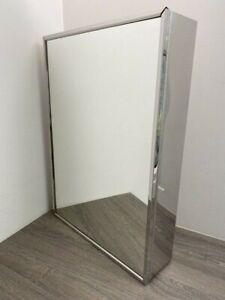 ~~~REDUCED~~~ 😊 Tall Narrow Single Door Bathroom Mirror Cabinet - FAULT