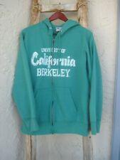 University Of California Berkeley MV Classic 50/50 Zip Hoodie Sweatshirt Sz M