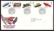 29063) UK - GREAT BRITAIN 2003 FDC Classical toys 5v