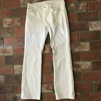 Seven 7 for All Mankind Women's Size 31 White Jeans Pants